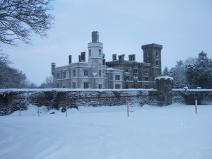 Wilton with snow